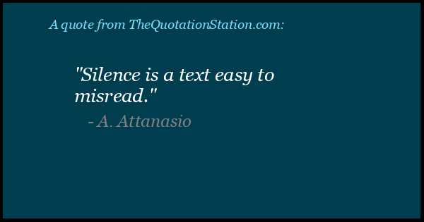 Click to Share this Quote by A Attanasio on Facebook