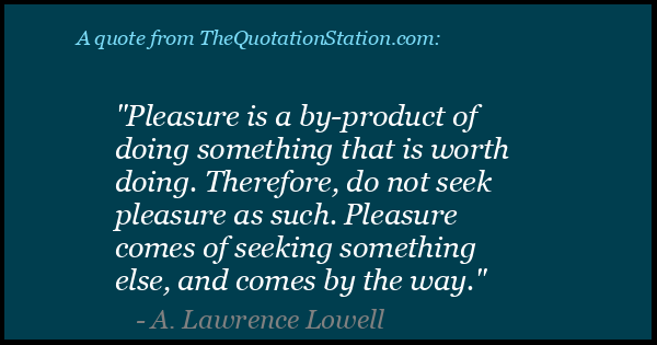 Click to Share this Quote by A Lawrence Lowell on Facebook