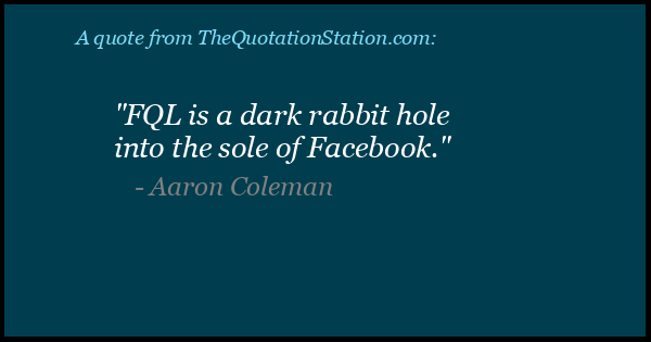 Click to Share this Quote by Aaron Coleman on Facebook