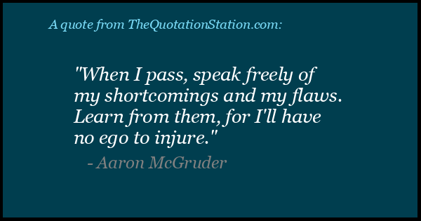 Click to Share this Quote by Aaron McGruder on Facebook