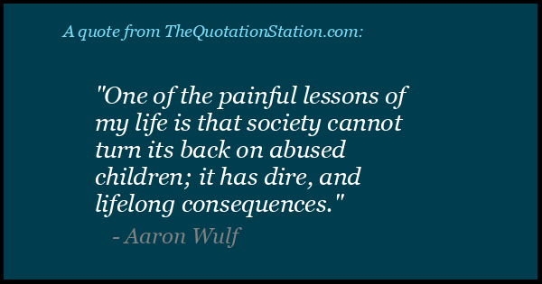 Click to Share this Quote by Aaron Wulf on Facebook