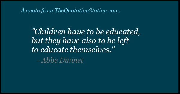 Click to Share this Quote by Abbe Dimnet on Facebook