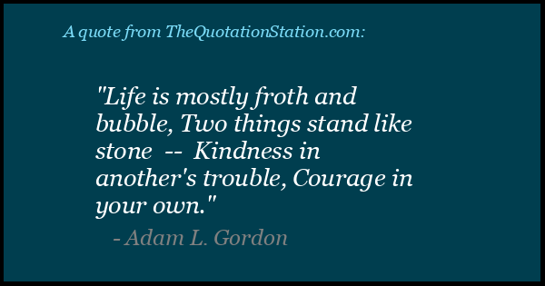 Click to Share this Quote by Adam L Gordon on Facebook