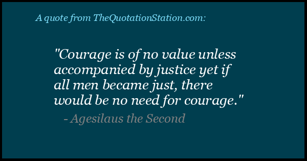 Click to Share this Quote by Agesilaus the Second on Facebook