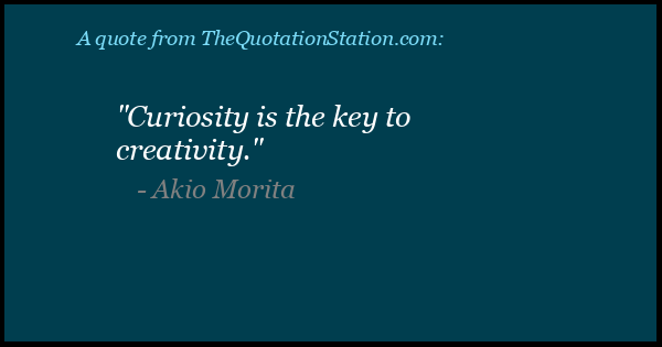 Click to Share this Quote by Akio Morita on Facebook