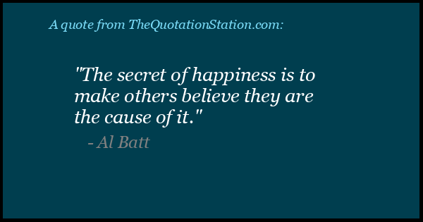 Click to Share this Quote by Al Batt on Facebook