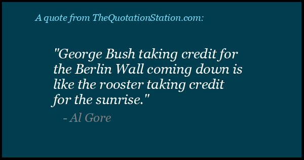 Click to Share this Quote by Al Gore on Facebook