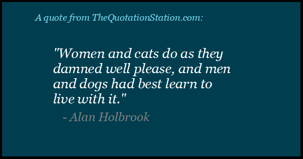 Click to Share this Quote by Alan Holbrook on Facebook