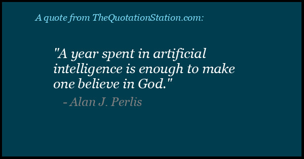 Click to Share this Quote by Alan J Perlis on Facebook