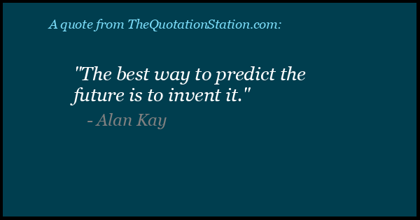 Click to Share this Quote by Alan Kay on Facebook