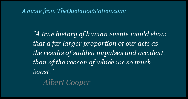 Click to Share this Quote by Albert Cooper on Facebook