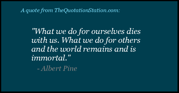 Click to Share this Quote by Albert Pine on Facebook