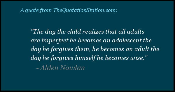 Click to Share this Quote by Alden Nowlan on Facebook