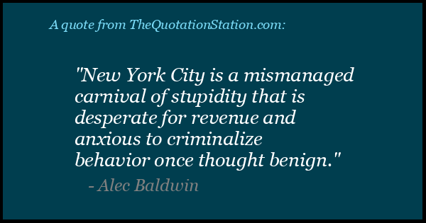 Click to Share this Quote by Alec Baldwin on Facebook