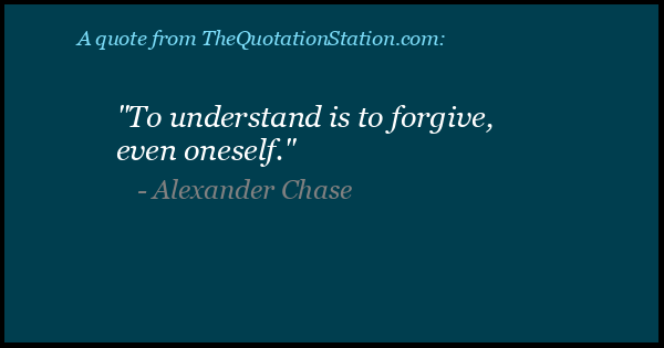Click to Share this Quote by Alexander Chase on Facebook