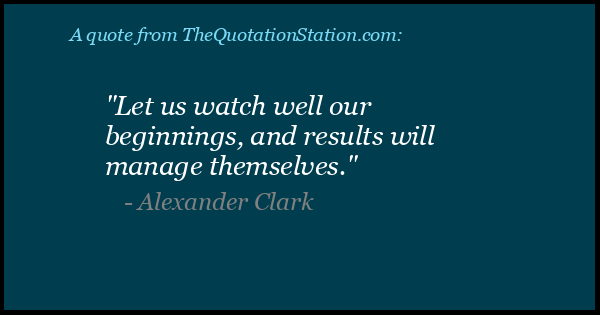 Click to Share this Quote by Alexander Clark on Facebook