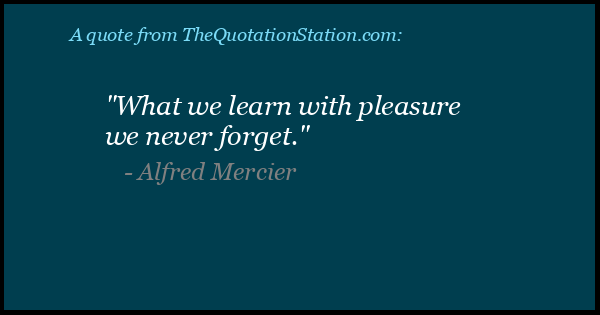 Click to Share this Quote by Alfred Mercier on Facebook