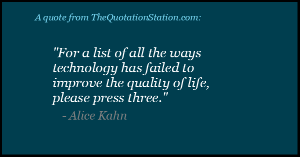 Click to Share this Quote by Alice Kahn on Facebook