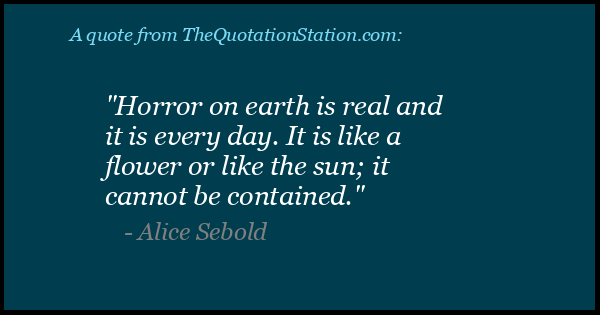 Click to Share this Quote by Alice Sebold on Facebook