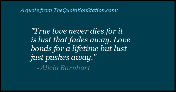 Click to Share this Quote by Alicia Barnhart on Facebook