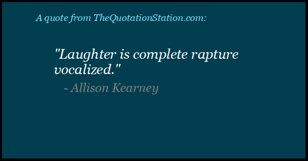 Click to Share this Quote by Allison Kearney on Facebook