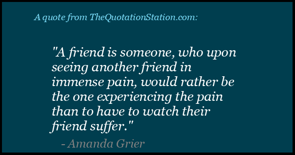Click to Share this Quote by Amanda Grier on Facebook