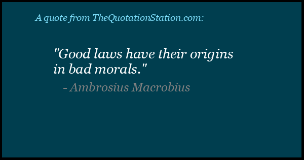 Click to Share this Quote by Ambrosius Macrobius on Facebook