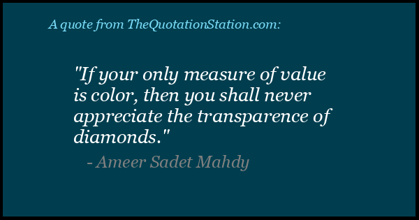 Click to Share this Quote by Ameer Sadet Mahdy on Facebook