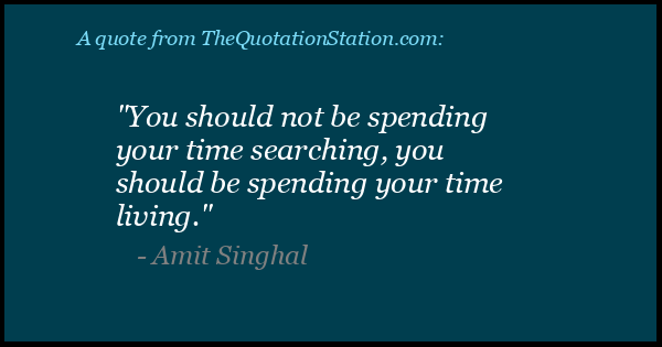 Click to Share this Quote by Amit Singhal on Facebook