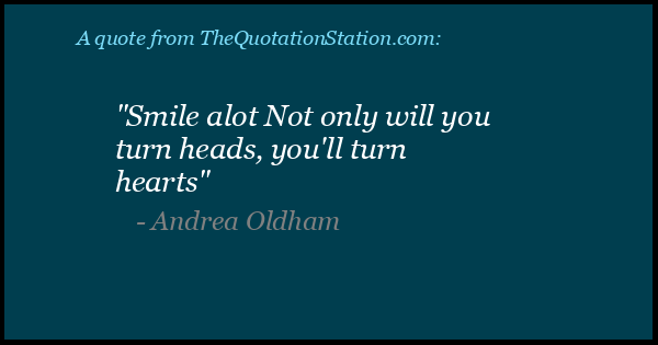 Click to Share this Quote by Andrea Oldham on Facebook