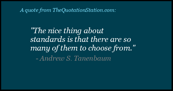 Click to Share this Quote by Andrew S Tanenbaum on Facebook