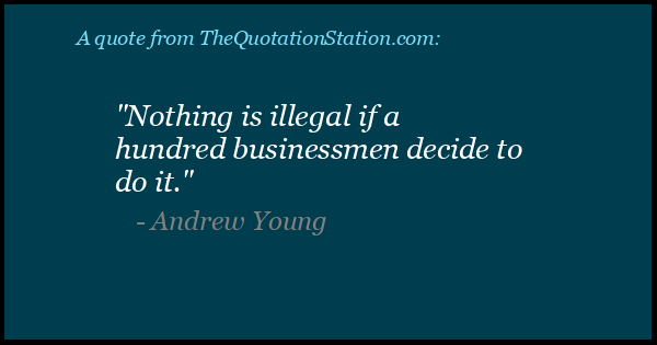 Click to Share this Quote by Andrew Young on Facebook