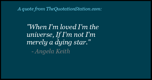 Click to Share this Quote by Angela Keith on Facebook