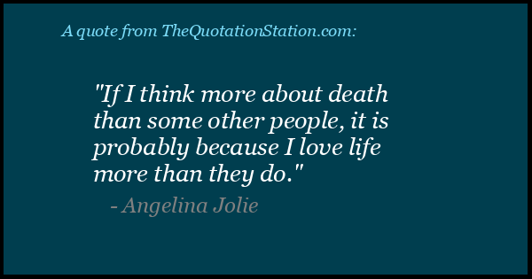 Click to Share this Quote by Angelina Jolie on Facebook