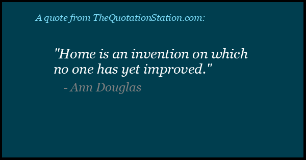 Click to Share this Quote by Ann Douglas on Facebook