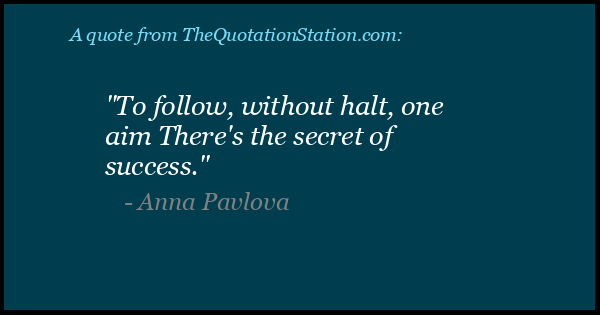 Click to Share this Quote by Anna Pavlova on Facebook