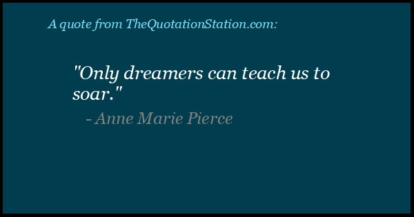 Click to Share this Quote by Anne Marie Pierce on Facebook