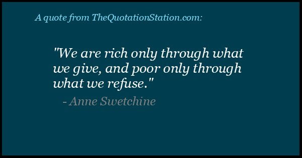 Click to Share this Quote by Anne Sophie Swetchine on Facebook