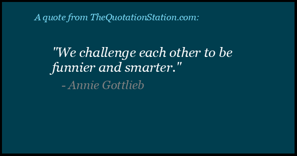 Click to Share this Quote by Annie Gottlieb on Facebook