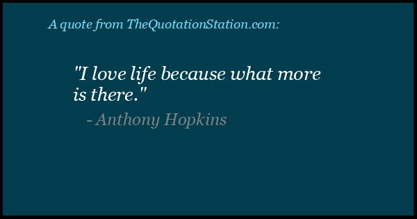 Click to Share this Quote by Anthony Hopkins on Facebook