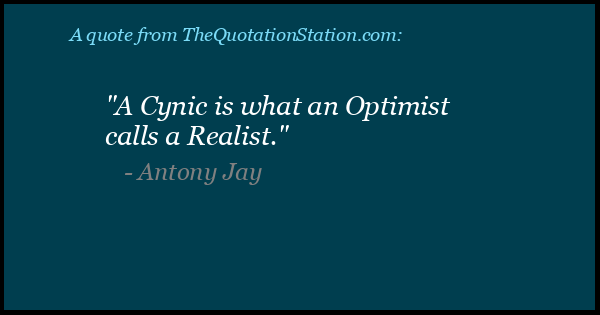 Click to Share this Quote by Antony Jay on Facebook