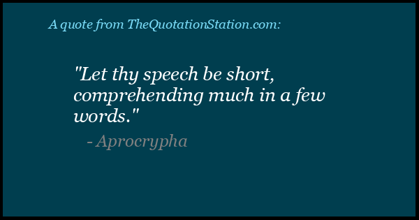 Click to Share this Quote by Aprocrypha on Facebook