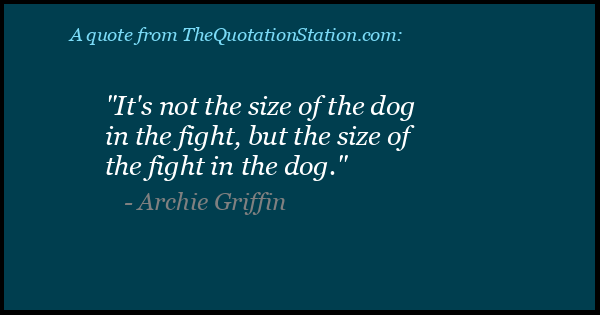 Click to Share this Quote by Archie Griffin on Facebook