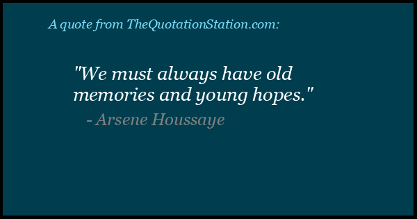 Click to Share this Quote by Arsene Houssaye on Facebook