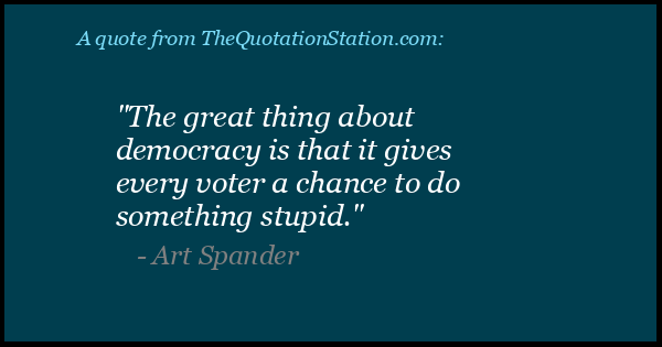 Click to Share this Quote by Art Spander on Facebook
