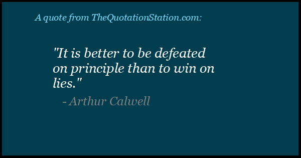 Click to Share this Quote by Arthur Calwell on Facebook