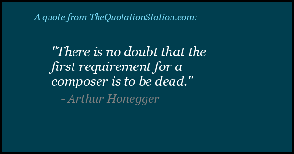Click to Share this Quote by Arthur Honegger on Facebook