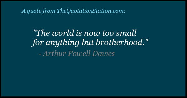 Click to Share this Quote by Arthur Powell Davies on Facebook