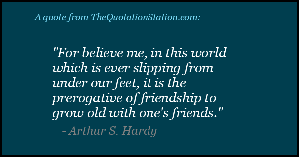 Click to Share this Quote by Arthur S Hardy on Facebook