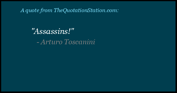 Click to Share this Quote by Arturo Toscanini on Facebook